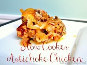 Slow cooker Artichoke Chicken recipe