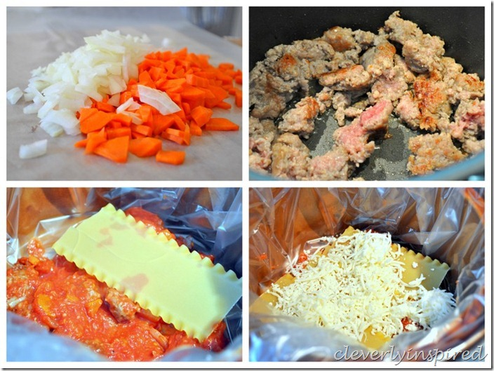 slow cooker lasagna @cleverlyinspired (1)