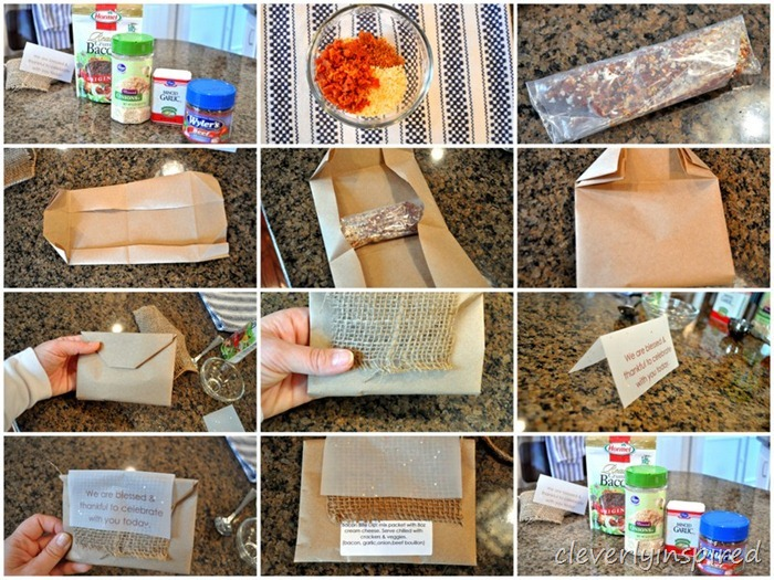 DIY party favor dry dip mix recipe @cleverlyinspired (4)