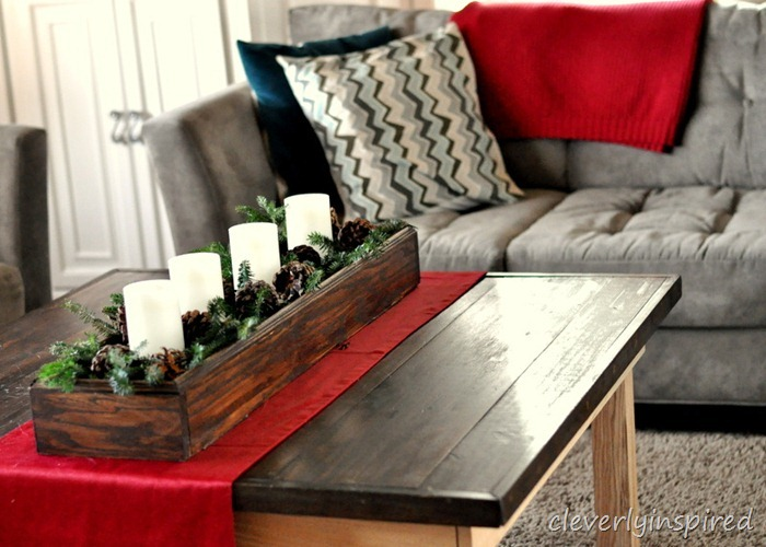 christmas mantle 2012 (decorating a holiday mantle) @cleverlyinspired (20)