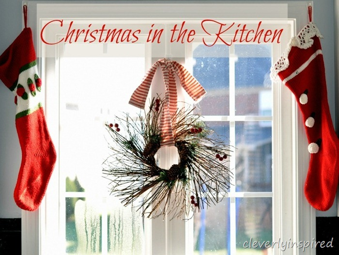 holiday decorating in the kitchen @cleverlyinspired (14)