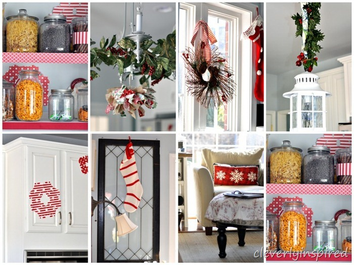 holiday decorating in the kitchen @cleverlyinspired (1)