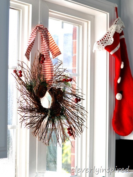 holiday decorating in the kitchen @cleverlyinspired (3)