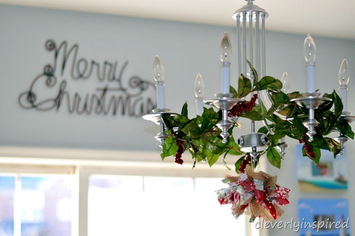 holiday decorating in the kitchen @cleverlyinspired (6)