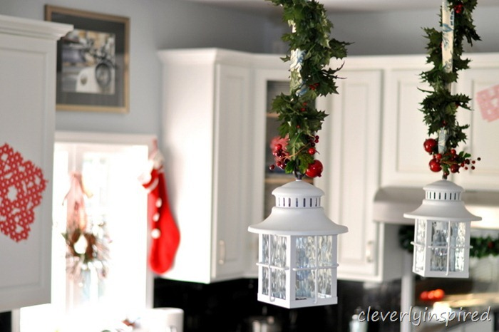 holiday decorating in the kitchen @cleverlyinspired (7)