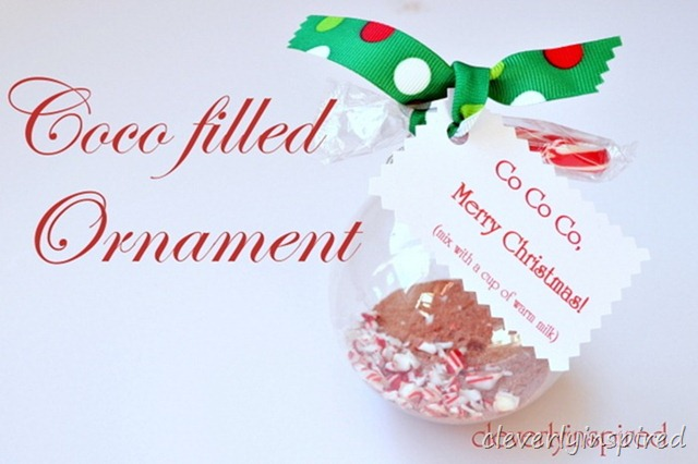 hot coco ornament