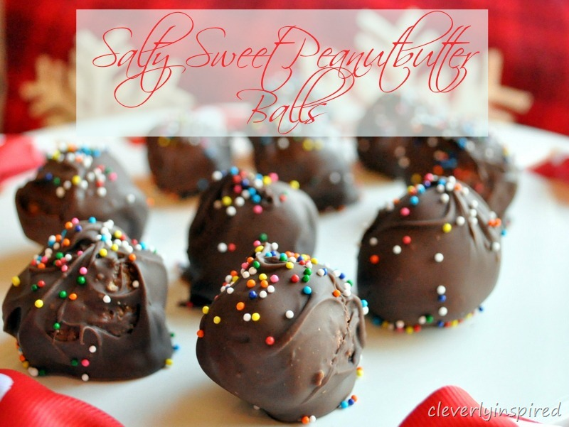 Sweet and Salty Peanutbutter Balls: Sponsored Post