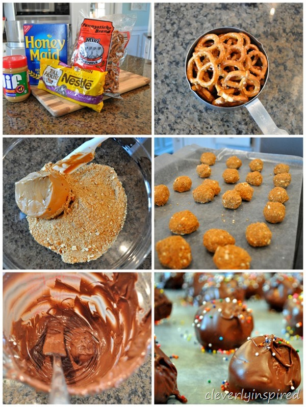 salty sweet peanutbutter ball recipe @cleverlyinspired (5)