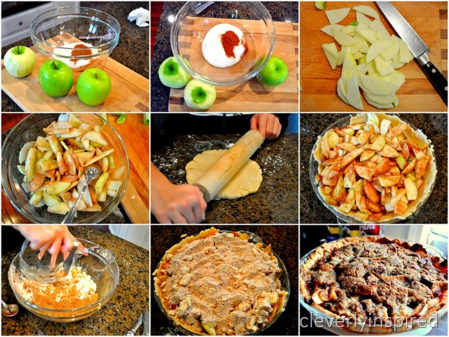 crumb crust apple pie recipe @cleverlyinspired (3)