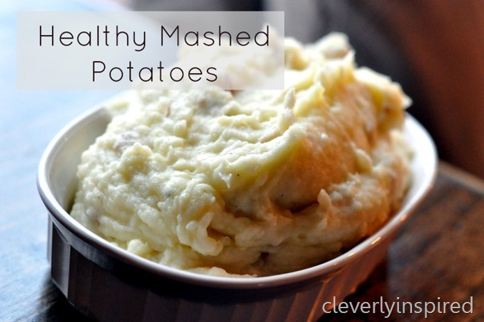 healthy mashed potato recipe @cleverlyinspired (1)