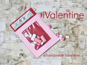 Handmade Valentine: Smartphone Valentine