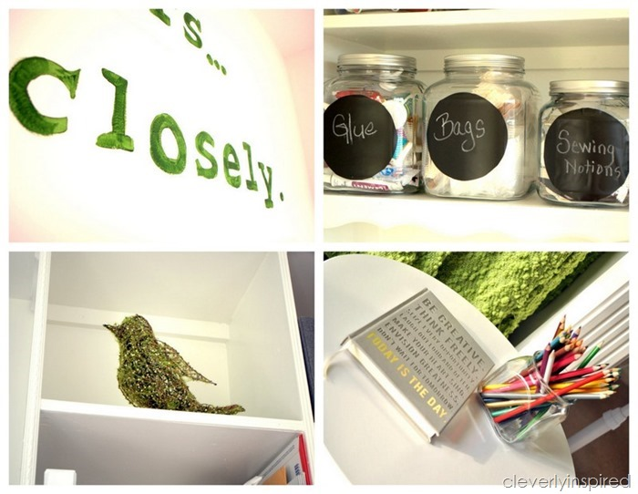 office craft room @cleverlyinspired (8)