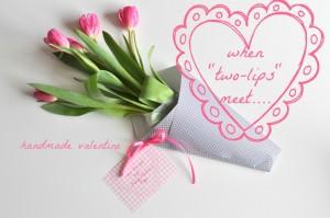 """When """"two-lips"""" meet (tulip Valentine)"""