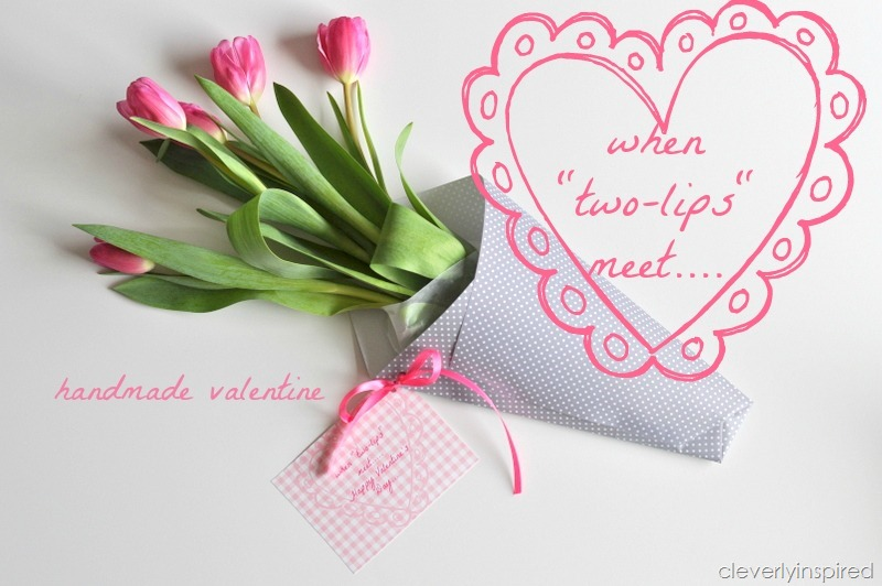 "when ""two-lips"" meet (tulip valentine) - cleverly inspired, Ideas"