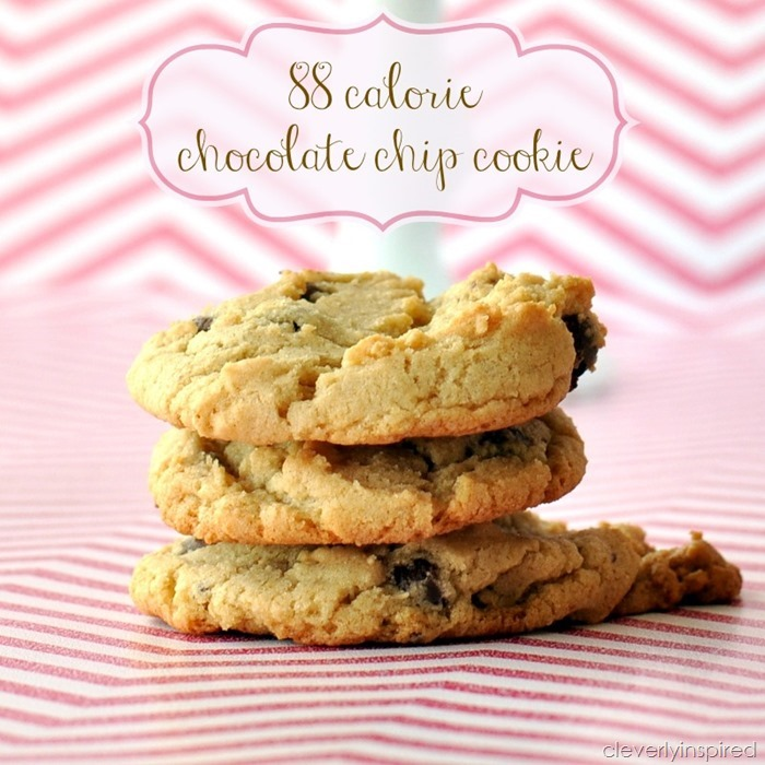 88 calorie chocolate chip cookie recipe @cleverlyinspired (5)