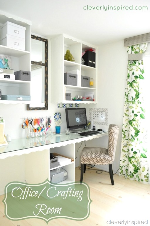 Office Craft Room @cleverlyinspired (9)