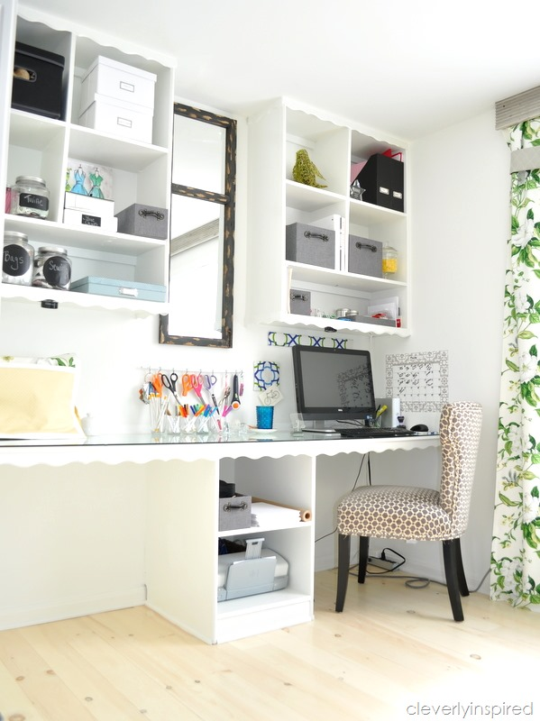 office craft room reveal at cleverlyinspired (3)