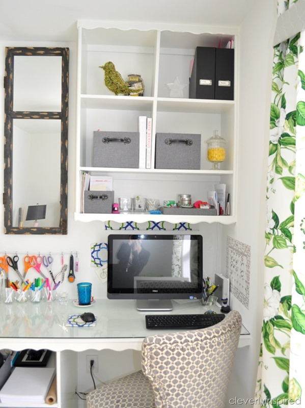 office craft room reveal at cleverlyinspired (7)