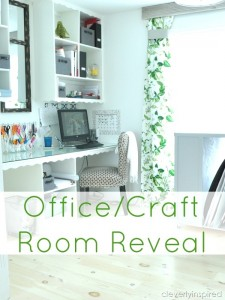 Office/Craft Room Reveal