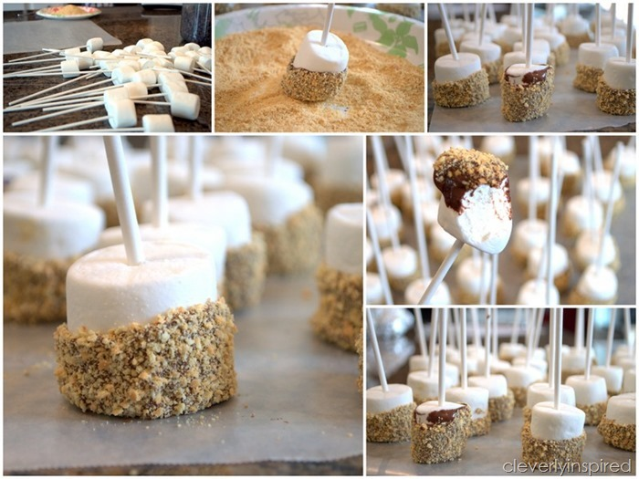 smores on a stick @cleverlyinspired (5)