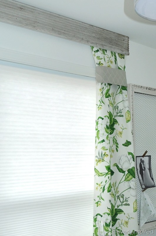 using old trim to create a valance @cleverlyinspired (6)