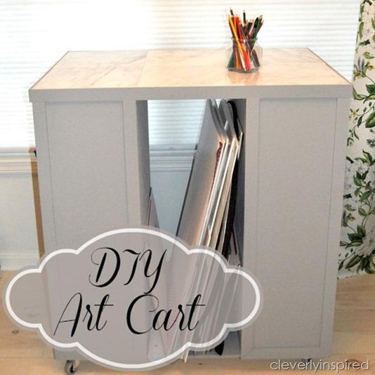 Diy Art Cart
