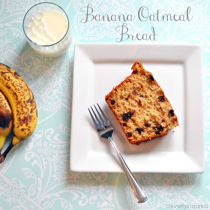banana oatmeal bread @cleverlyinspired (4)