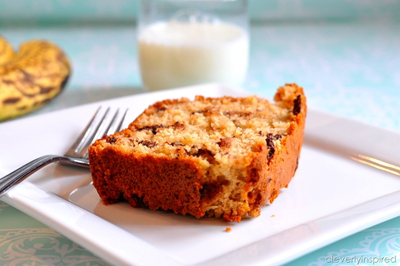 banana oatmeal bread @cleverlyinspired (5)