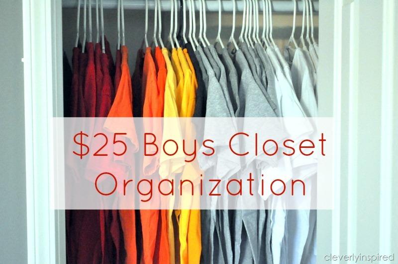 Closet Organization For Boys Room @cleverlyinspired (4)