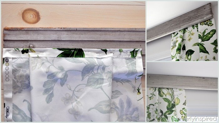 simple no sew drapery panels @cleverlyinpired (5)