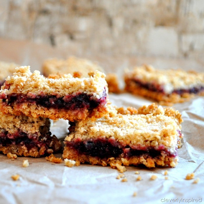 triple berry bars recipe @cleverlyinspired (5)