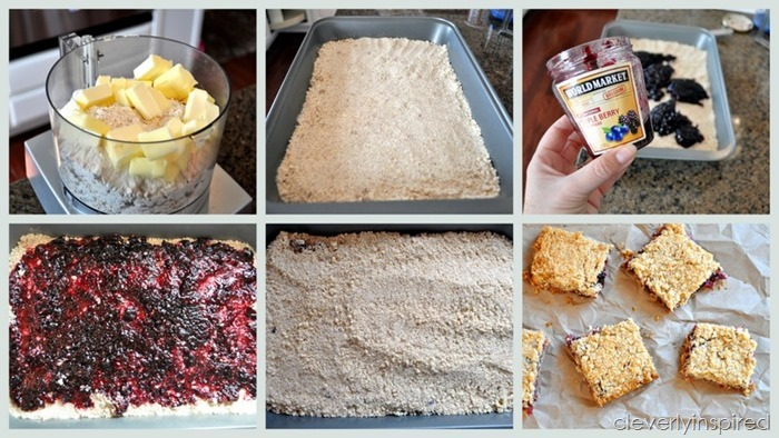 triple berry bars recipe @cleverlyinspired (6)