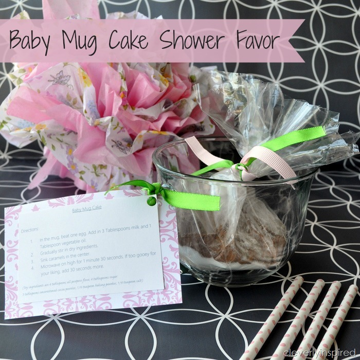 Baby mug cake shower favor @cleverlyinspired (5)