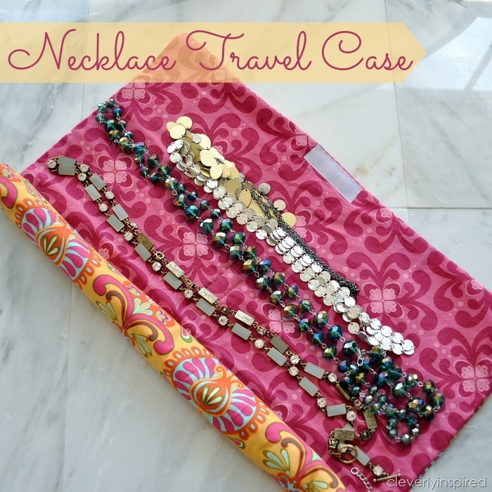 DIY necklace travel case @cleverlyinspired (2)