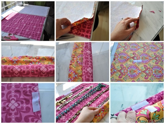 DIY necklace travel case @cleverlyinspired (4)