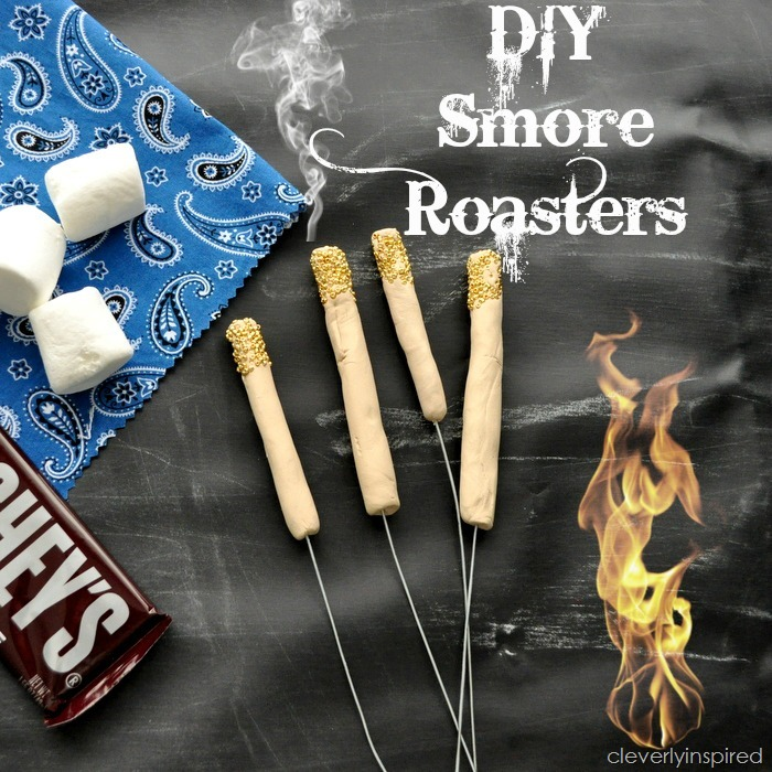 DIY smores roasters @cleverlyinspired (1)