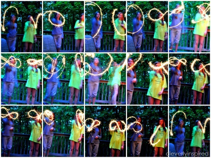 how to take pictures with sparklers @cleverlyinspire (3)