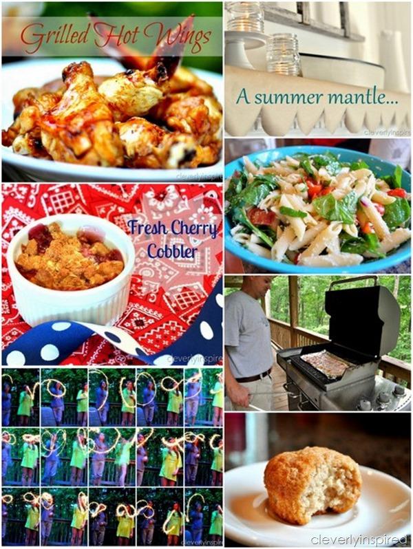 Fourth of July celebrating