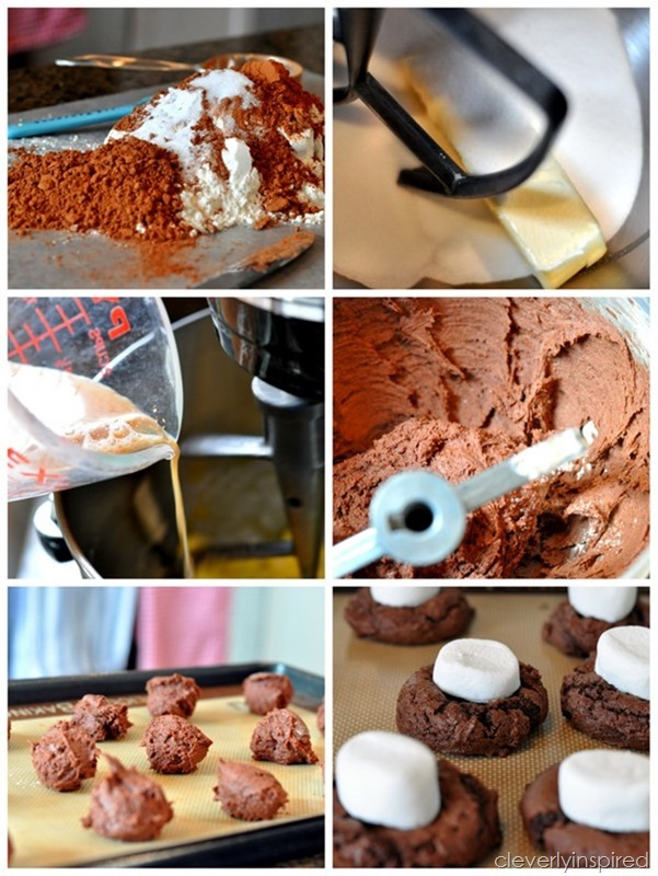 double chocolate marshmallo cookie @cleverlyinspired (3)