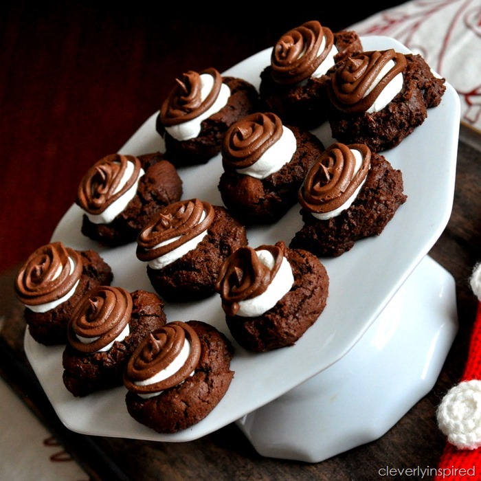 double chocolate marshmallo cookie @cleverlyinspired (5)