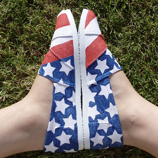 shoes july 4