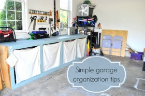 10 inexpensive tips to organize the garage