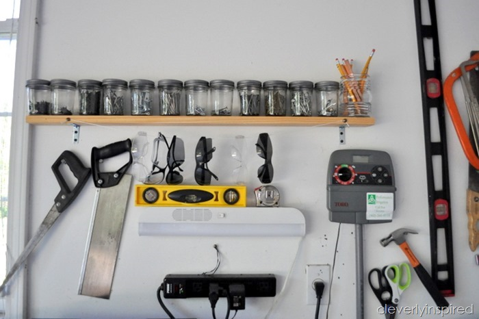 ideas to organize the garage @cleverlyinspired (5)
