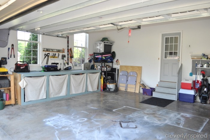ideas to organize the garage @cleverlyinspired (8)