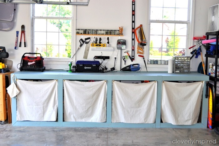 ideas to organize the garage @cleverlyinspired (9)