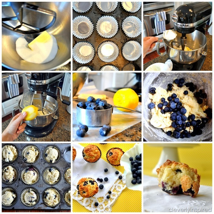 traditional blueberry muffin recipe @cleverlyinspired (1)