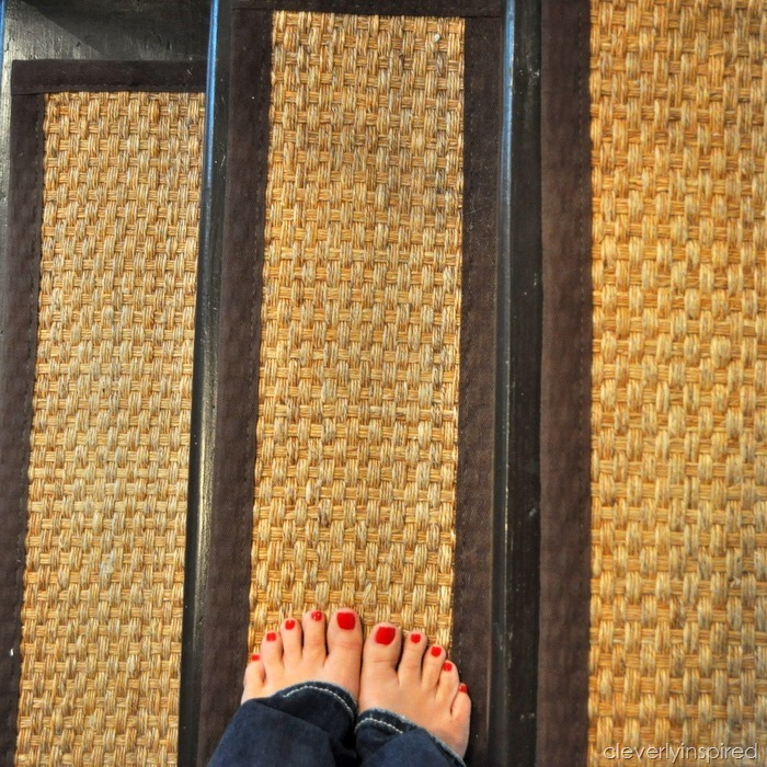 DIY refinished stairs @cleverlyinspired (4)