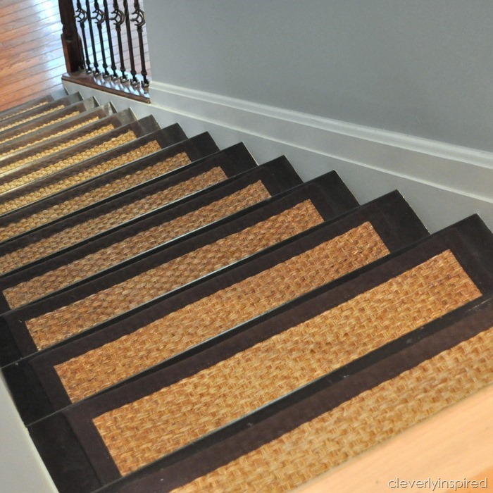 DIY Refinished Stairs @cleverlyinspired (5)