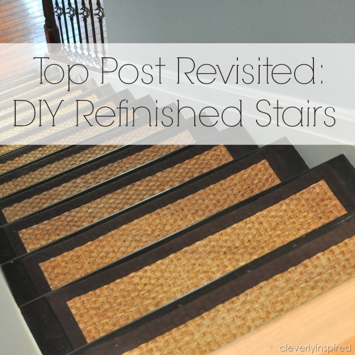 DIY Refinished Stairs @cleverlyinspired (6)
