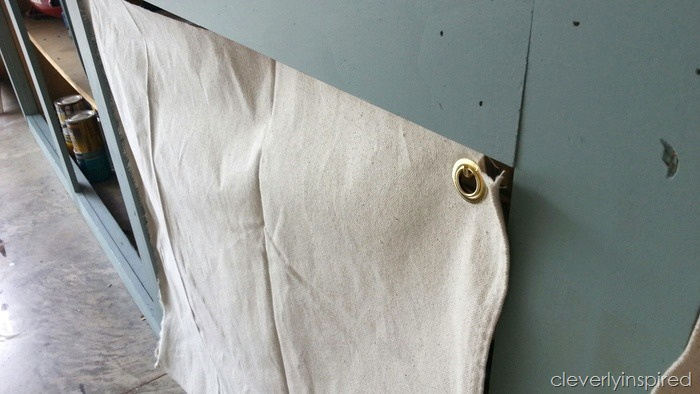 easy dropcloth curtains @cleverlyinspired (2)